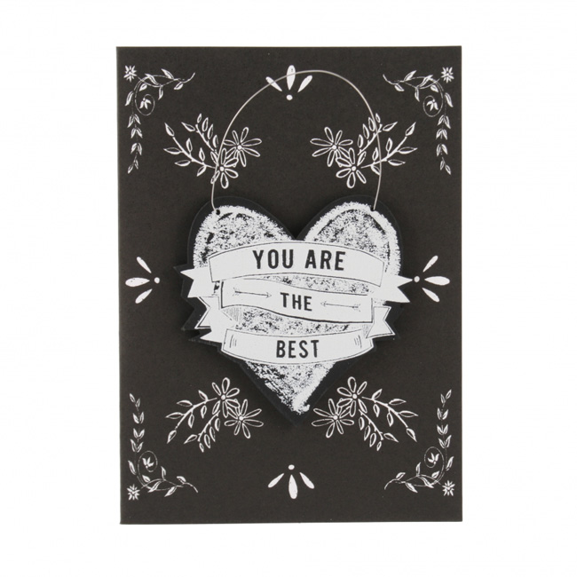 'You are the best' Card