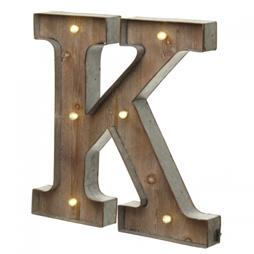 Light up LED Letter – K