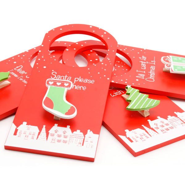Christmas wish list hanger