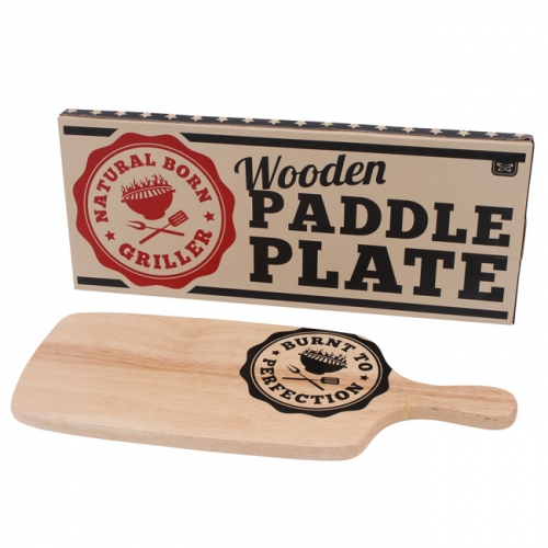 Burnt To Perfection Wooden Serving Board