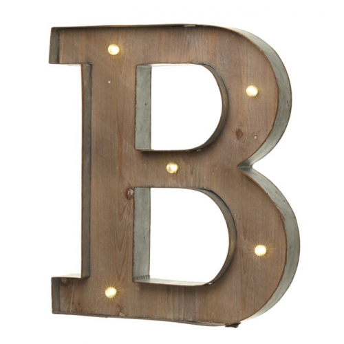 Light up LED Letter – B
