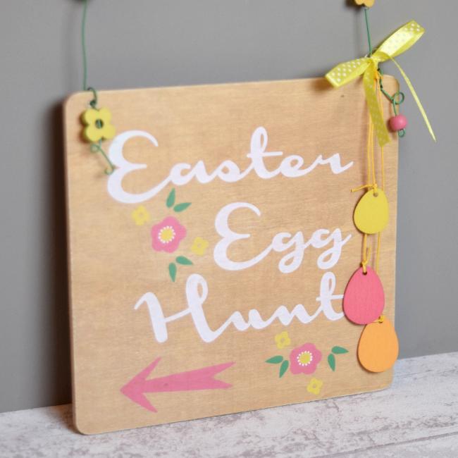 Easter Egg Hunt Plaque