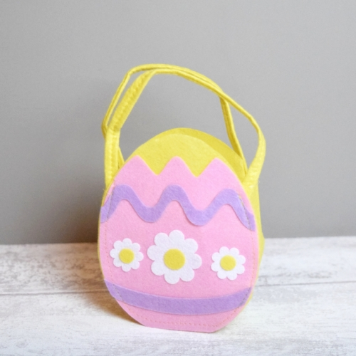 Felt Easter Egg Hunt Bag
