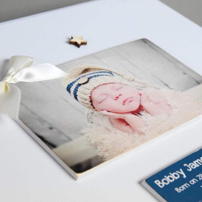 Personalised Photo Baby Keepsake Box