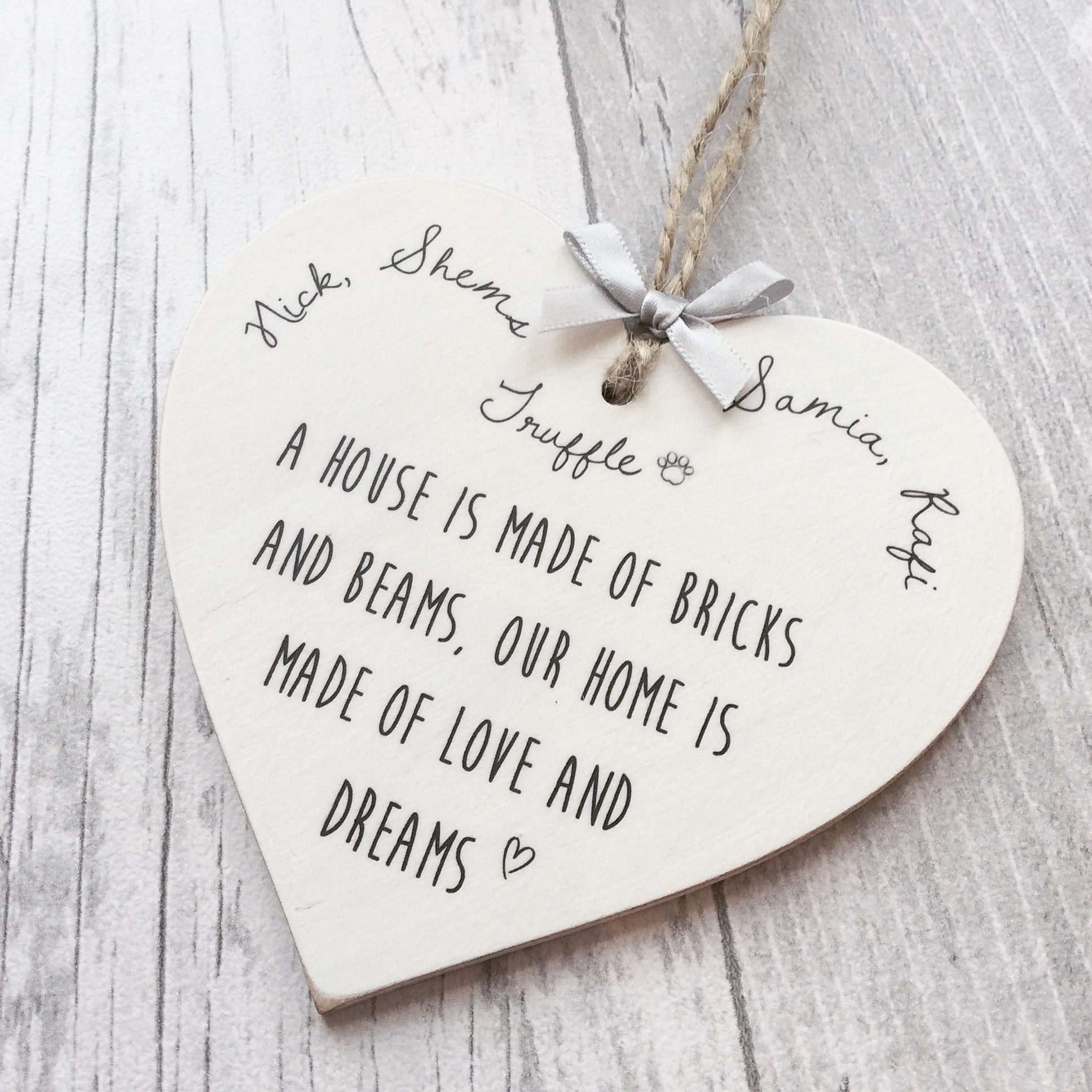 Personalised Home Heart