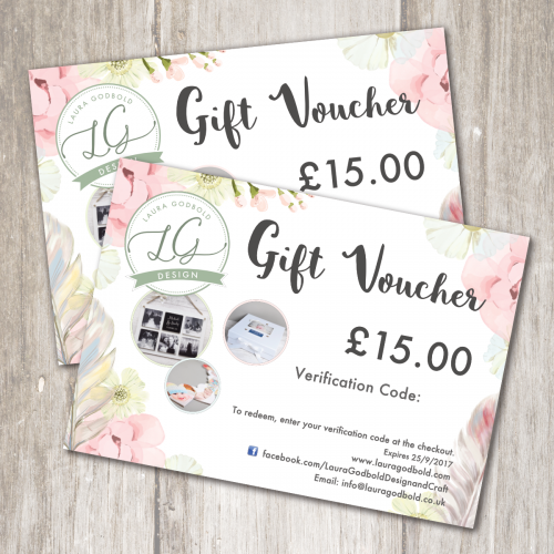 Laura Godbold Design gift voucher