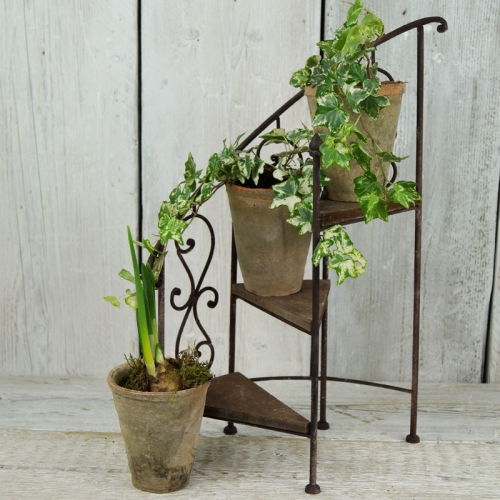 Spiral Plant Pot Display Stand
