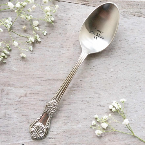 I love you Mum Engraved Large Spoon