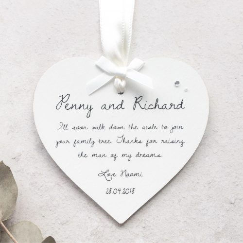 Wedding Heart - Joining the Family Tree
