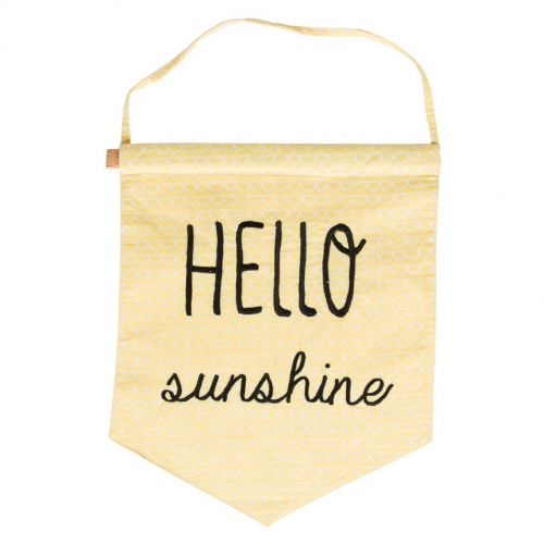 Hello Sunshine Pastel Flag
