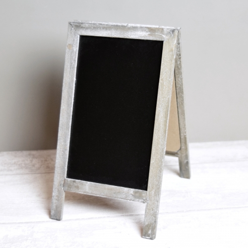 Standing Wooden Blackboard A-Board