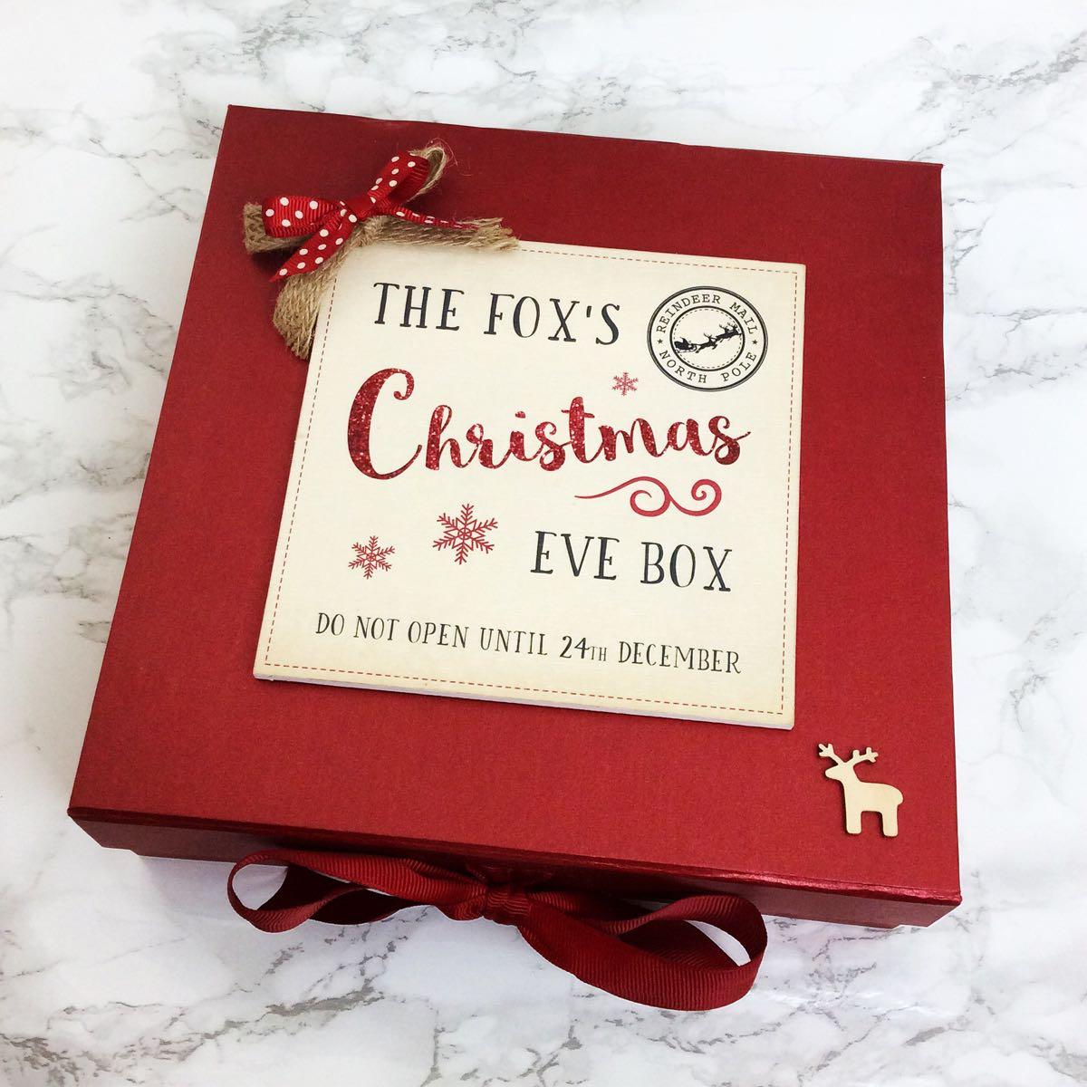 Personalised Christmas Eve Box Medium