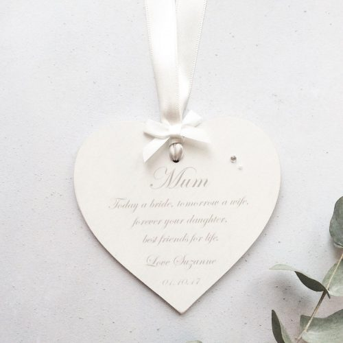 forever your daughter mother of the bride gift
