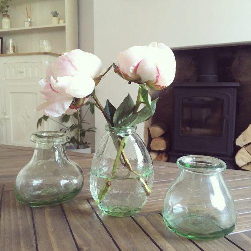 Wild Bouquet Glass Vases - Set of 3