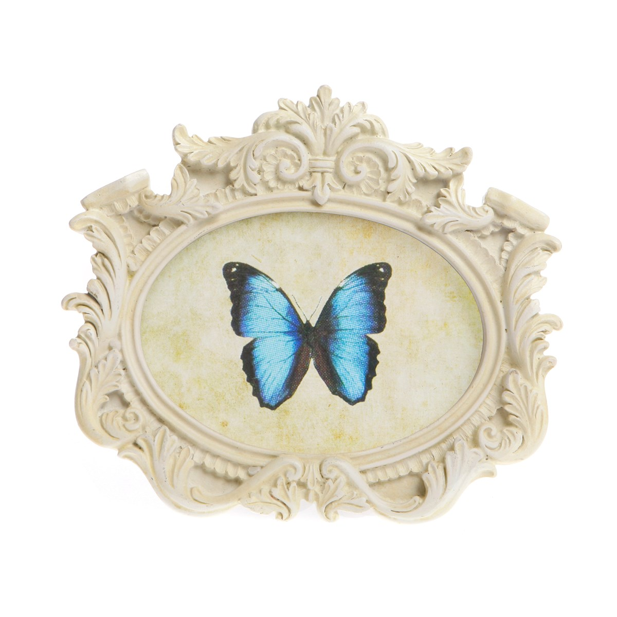 Decorative Oval Landscape Photo Frame