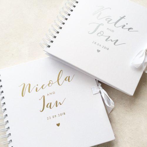 Personalised Wedding Guestbook
