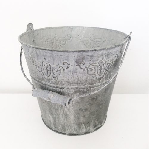 Decorative Zinc Bucket
