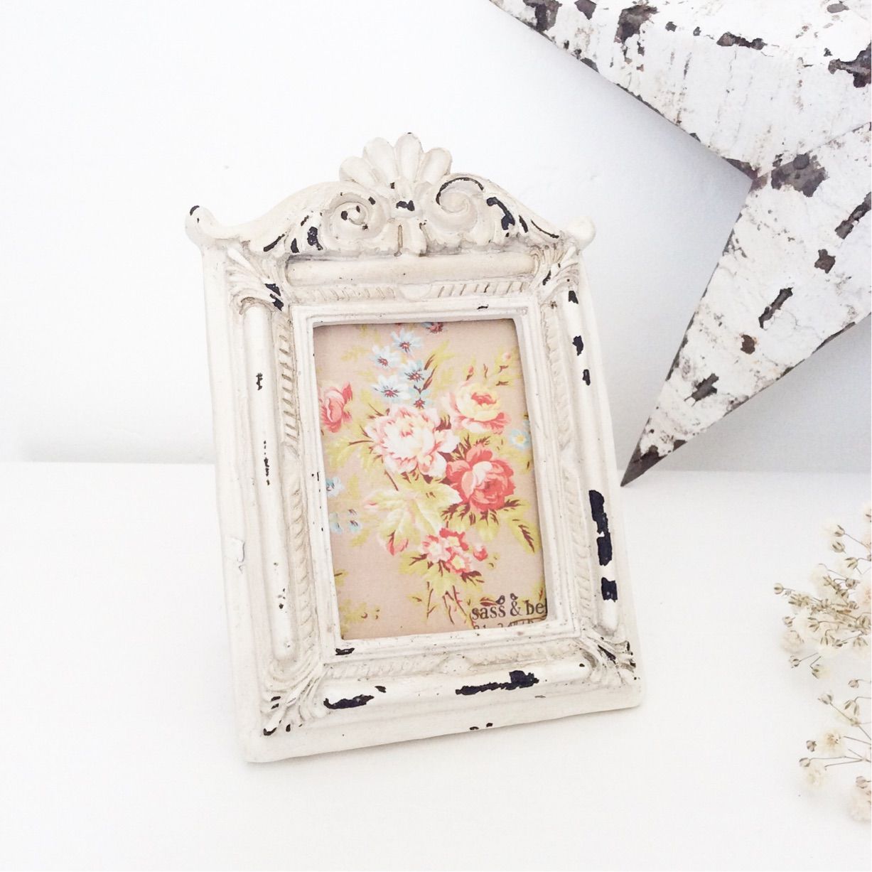 Mini Ornate Photo Frame