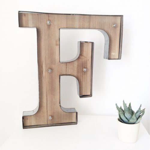 Light up LED Letter – F