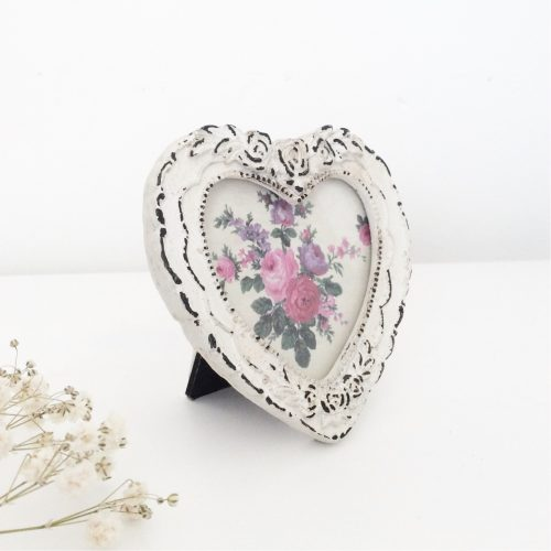 Mini Decorative Heart Photo Frame