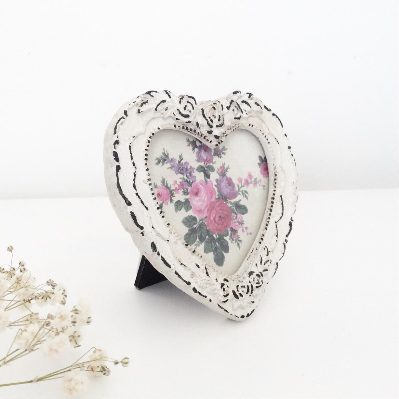Mini Decorative Heart Photo Frame