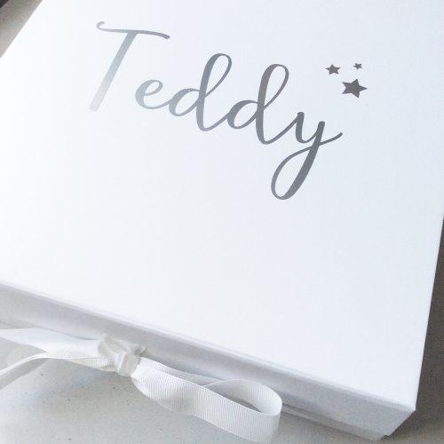 Personalised Large White Box