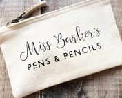 Personalised Teachers Pencil Case