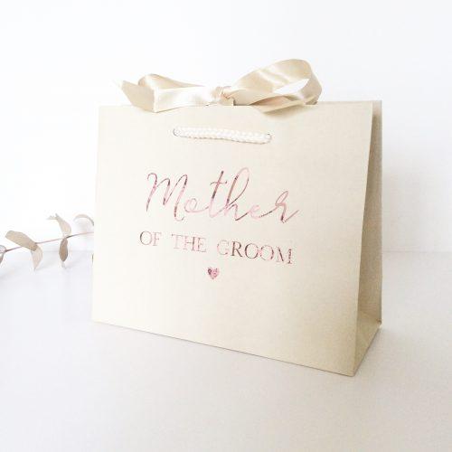 Personalised Luxury Wedding Gift Bag